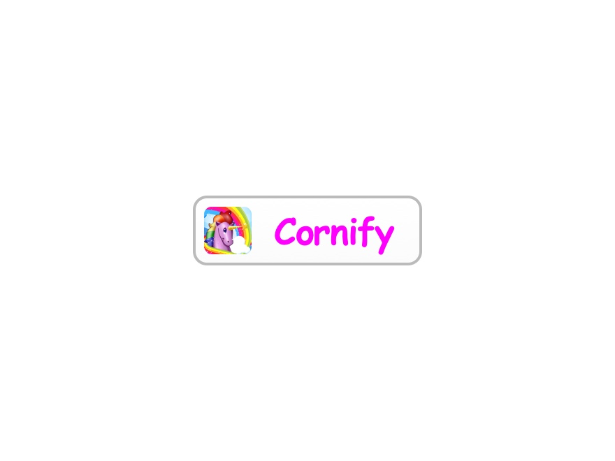 Cornify button