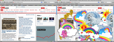 CNN full of Unicorns and Rainbows