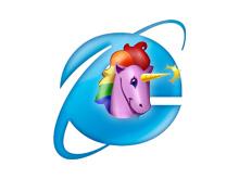 Cornify Internet Explorer 6