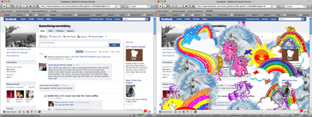 Facebook full of Unicorns and Rainbows