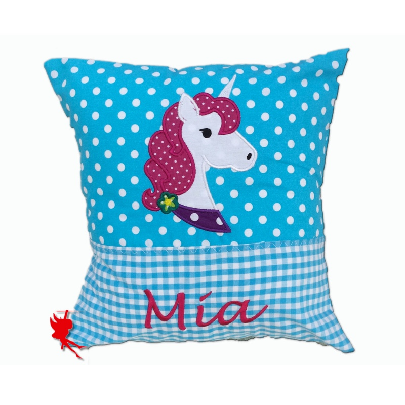 Cuddly unicorn pillow