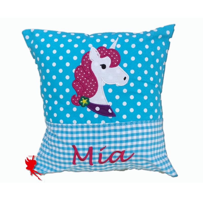 Cuddly unicorn pillow