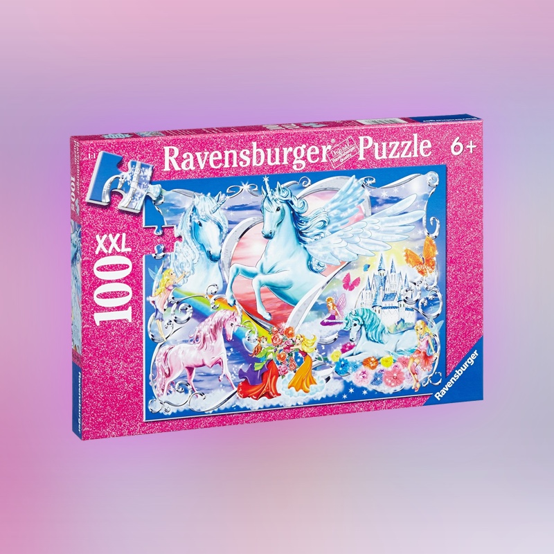 Land of the fairies glitter puzzle