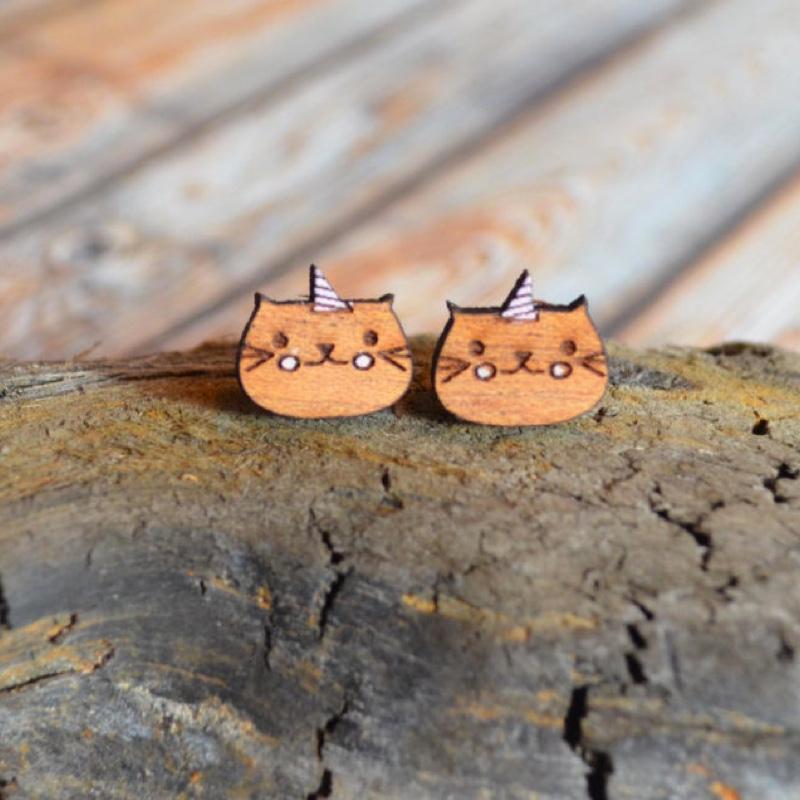 Unikitty earrings