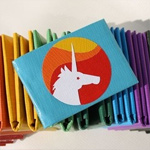 Unicorn Duct Tape Wallet