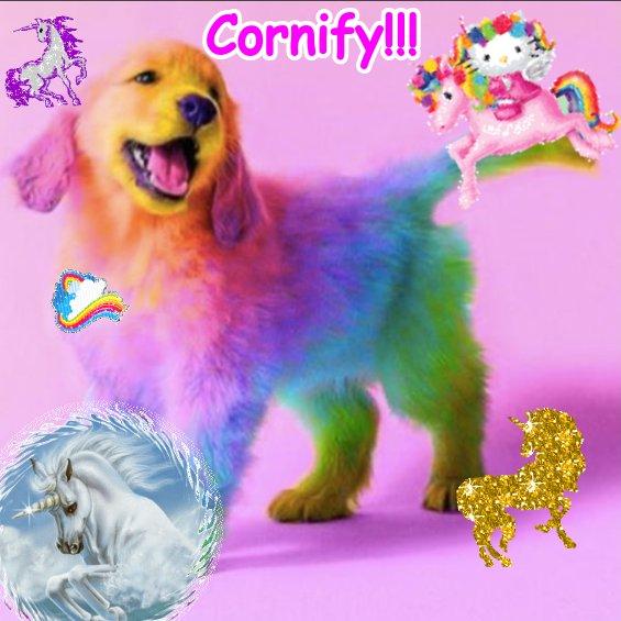 The joyful happy joyful joyful unicorn