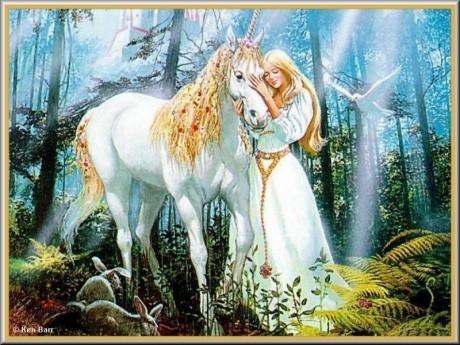 Matching Unicorn and Princess