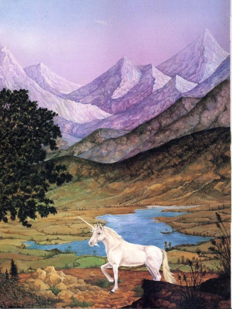Unicorn in the Mountains