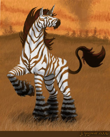 Unicorn Zebra