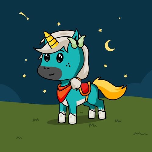 Best friend of kriti who designs amazing unicorns.