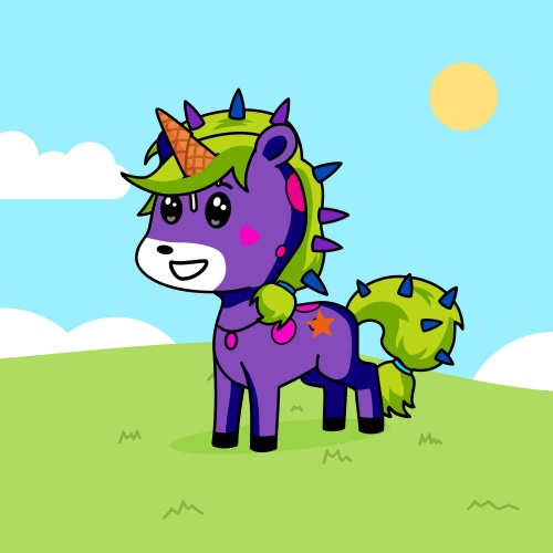 Best friend of banana who designs amazing unicorns.