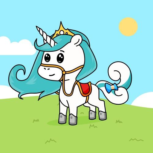 Best friend of Snowy who designs amazing unicorns.
