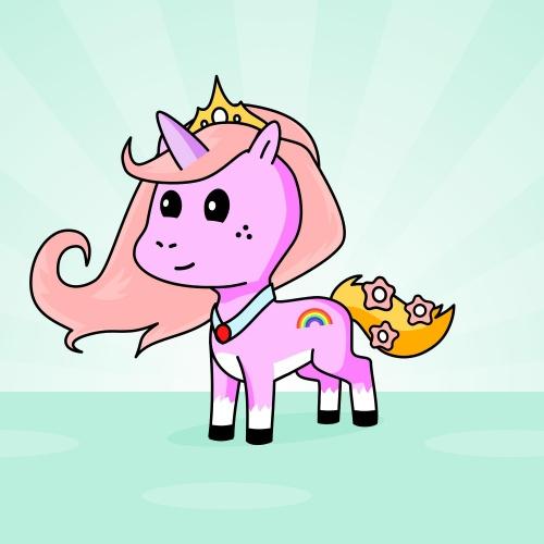 Best friend of Cherry who designs amazing unicorns.