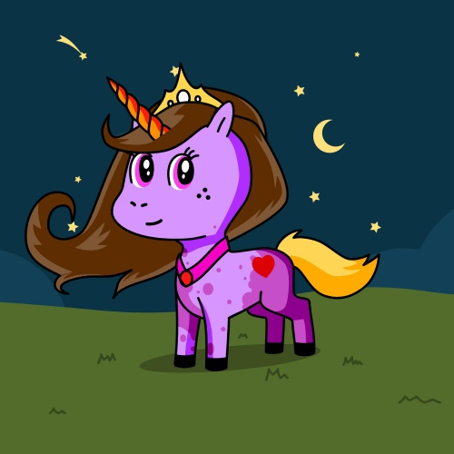 Best friend of Princess Emily who designs amazing unicorns.