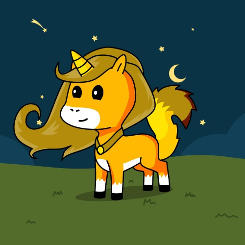Best friend of bear who designs amazing unicorns.