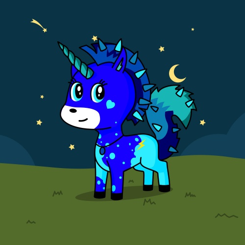 Best friend of taliyah who designs amazing unicorns.