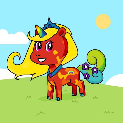 Best friend of Kristen Arvoy who designs amazing unicorns.