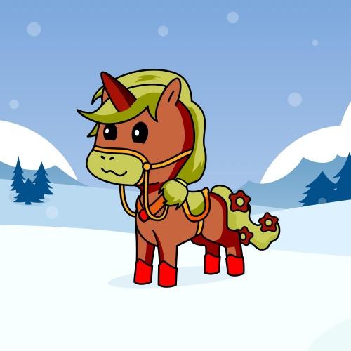Best friend of Sylvie who designs amazing unicorns.