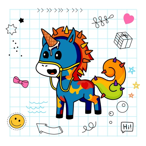 Best friend of charlotte who designs amazing unicorns.
