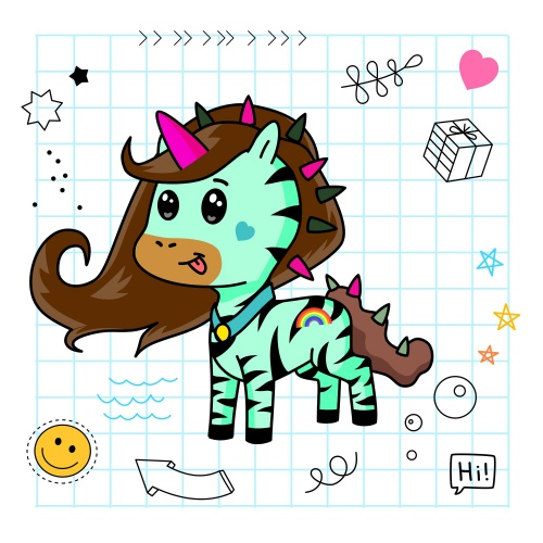 Best friend of minty who designs amazing unicorns.