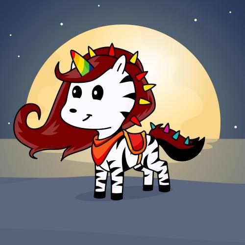 Best friend of Briannah who designs amazing unicorns.