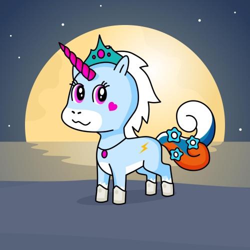 Best friend of Akeaia Harris who designs amazing unicorns.