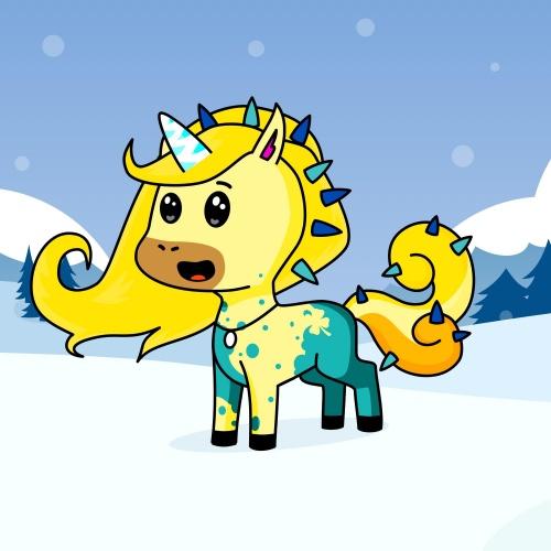 Best friend of Lia who designs amazing unicorns.