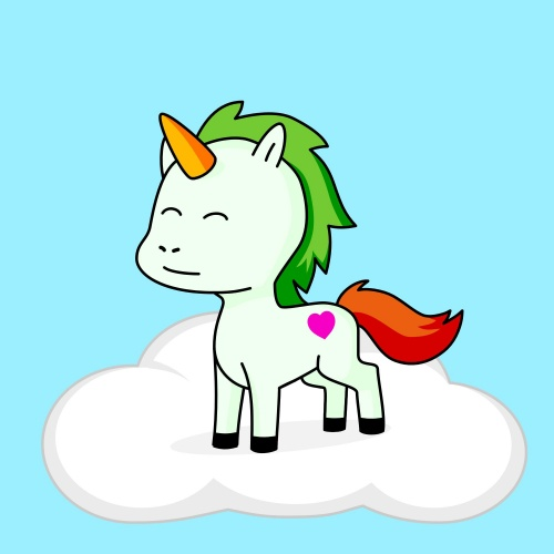 Best friend of mia who designs amazing unicorns.