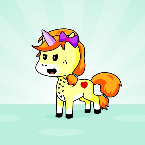 Best friend of evee-chan who designs amazing unicorns.