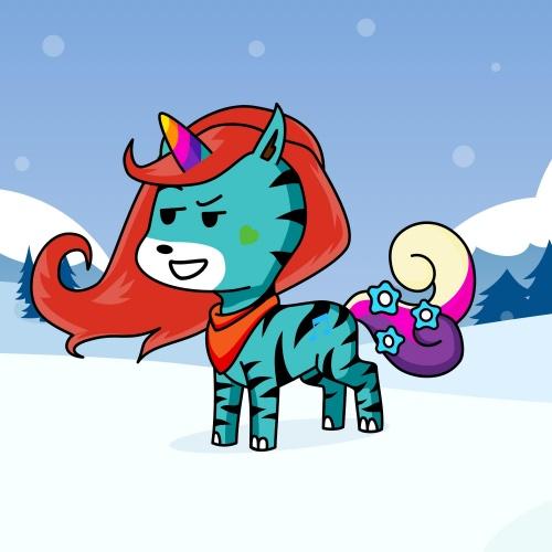 Best friend of Eden who designs amazing unicorns.
