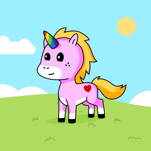 Best friend of vicky who designs amazing unicorns.