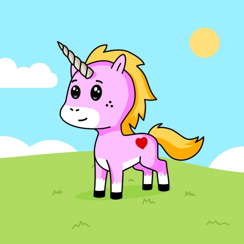 Best friend of Hana who designs amazing unicorns.