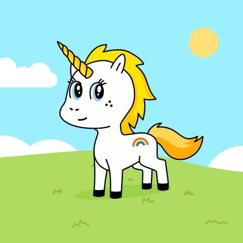 Best friend of Jasmine who designs amazing unicorns.