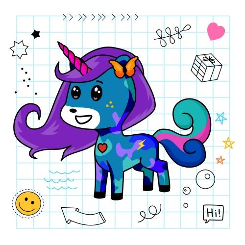 Best friend of dilwyn who designs amazing unicorns.