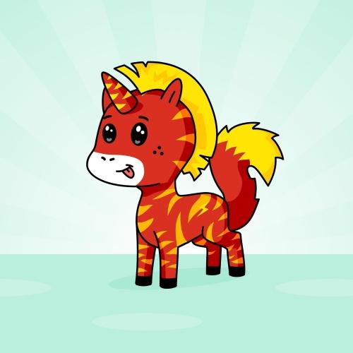 Best friend of chief who designs amazing unicorns.