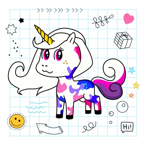 Best friend of Sprinkle who designs amazing unicorns.