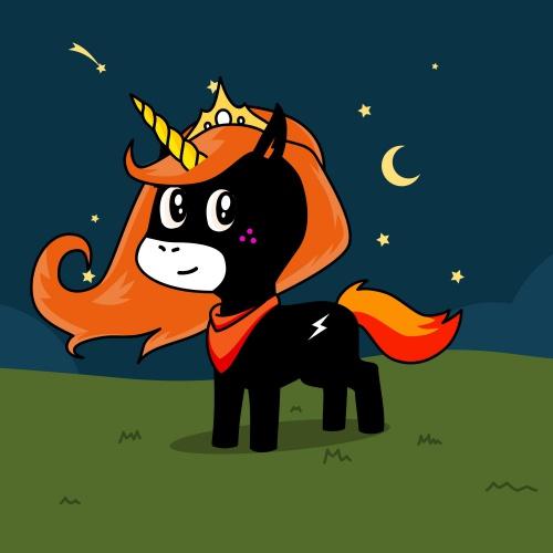 Best friend of amelia who designs amazing unicorns.
