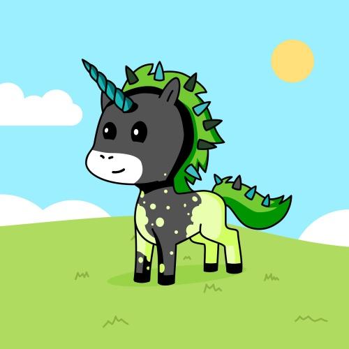 Best friend of zena who designs amazing unicorns.