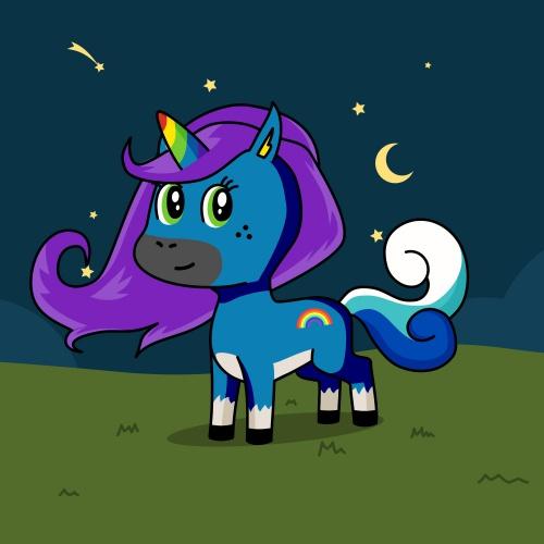 Best friend of Morgana who designs amazing unicorns.