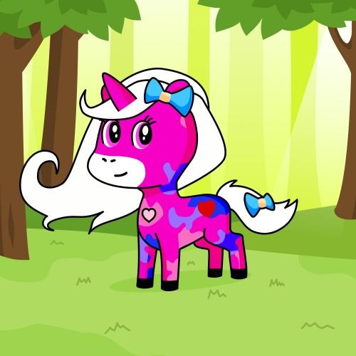 Best friend of Soft-girl Unicon who designs amazing unicorns.