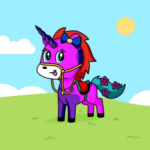 Best friend of Vaishali who designs amazing unicorns.