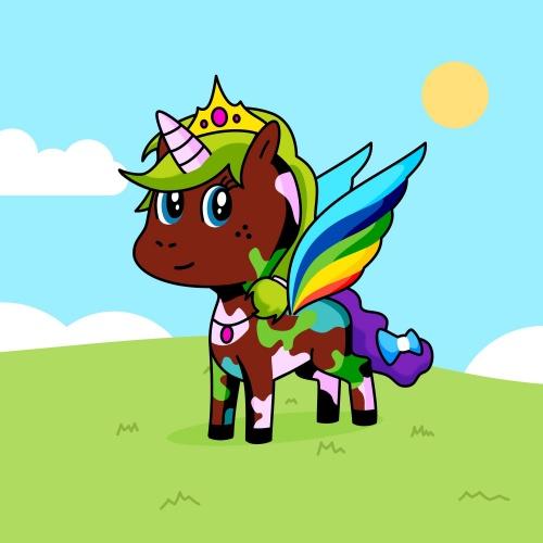 Best friend of Rosie who designs amazing unicorns.