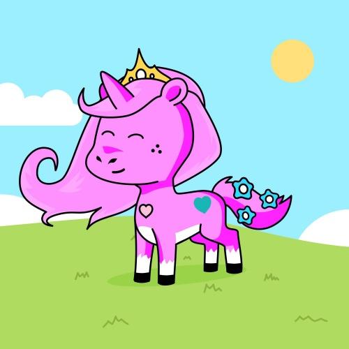 Best friend of  Cute pink who designs amazing unicorns.