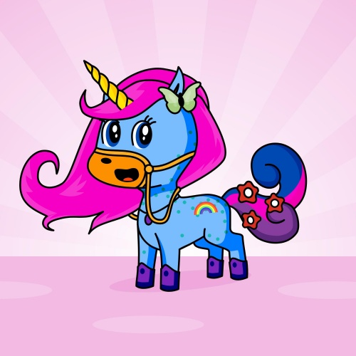 Best friend of Butterfly who designs amazing unicorns.