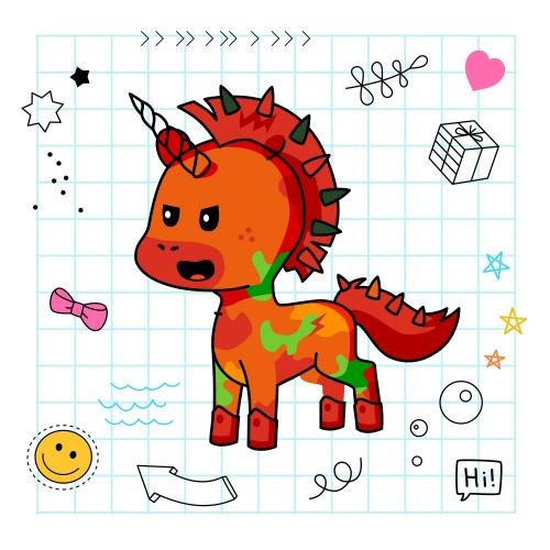 Best friend of sophia who designs amazing unicorns.