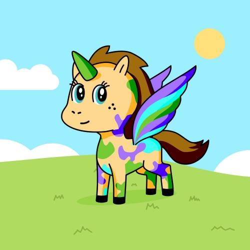 Best friend of mememe who designs amazing unicorns.