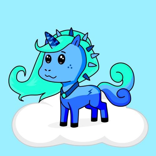 Best friend of Sajé Maria who designs amazing unicorns.