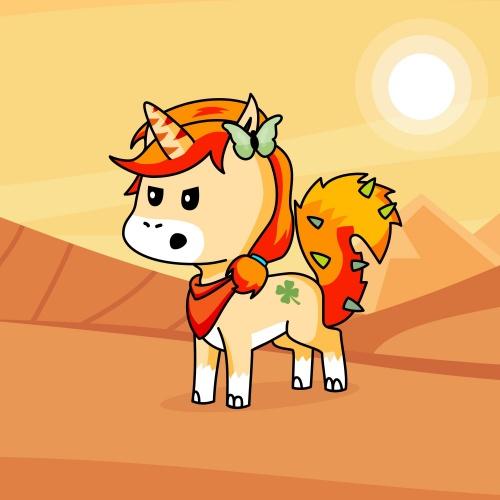 Best friend of Kn who designs amazing unicorns.