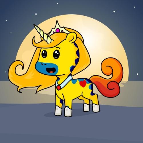 Brighty moonie queen