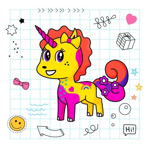 Best friend of Ellie who designs amazing unicorns.